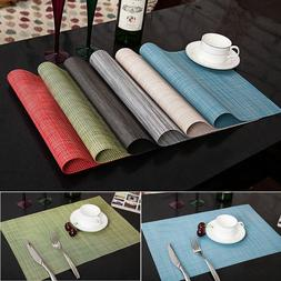 4pcs Quick-drying Placemats Insulation Mats Table Coasters K
