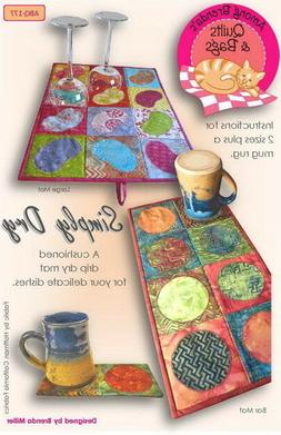 Among Brenda's Quilts 'Simply Dry' Pattern: Cushioned Dish D