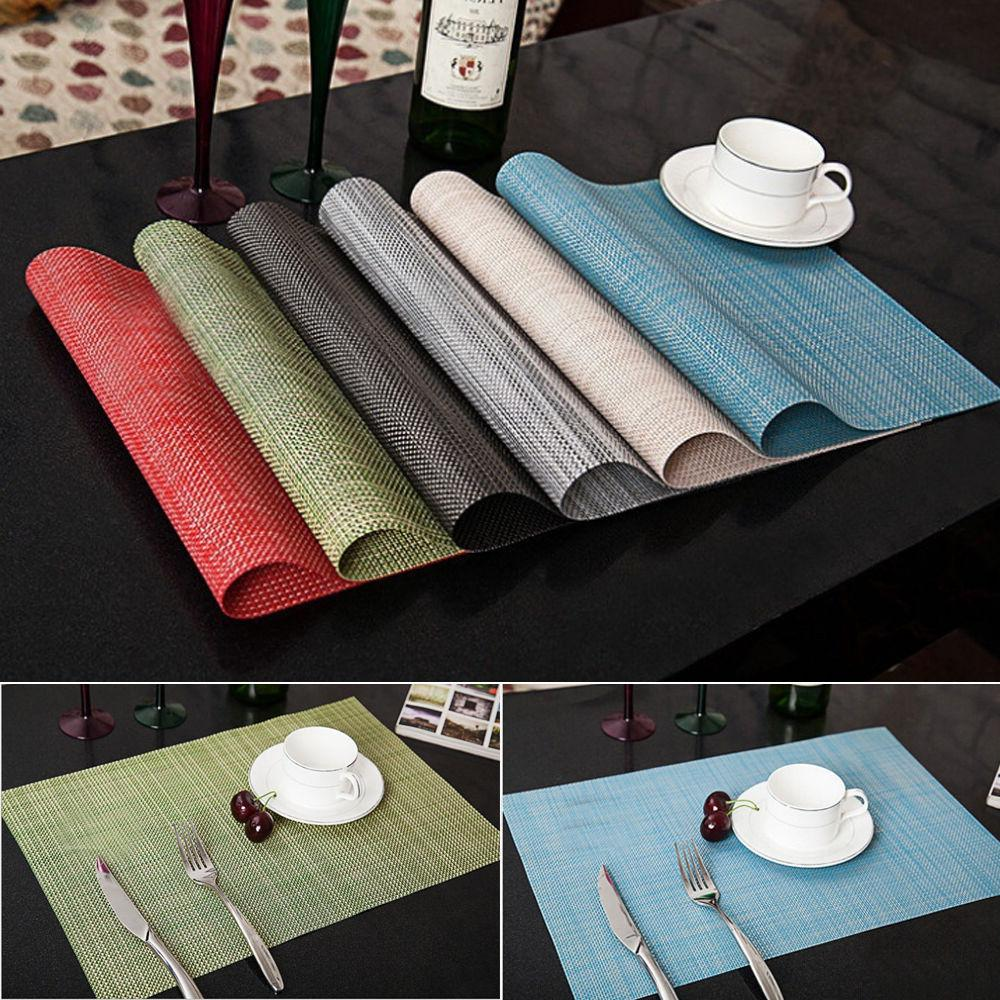 4pcs quick drying placemats insulation mats table