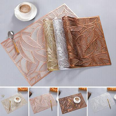 pvc quick drying placemats insulation mats coasters