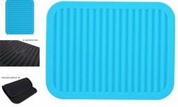 Lucky Plus Silicone Drying Mat for Dish Hot Pads for Counter