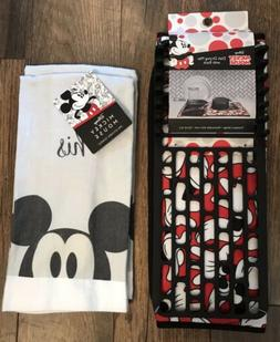 Disney Mickey Mouse Dish Drying Mat and His & Her Kitchen To
