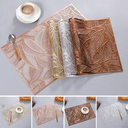 PVC Quick-drying Placemats Insulation Mats Coasters Kitchen