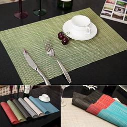 set of 4 quick drying placemats insulation