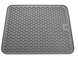 Silicone Large Dish Drying Mat, Heat Resistant Sink Mat Dish